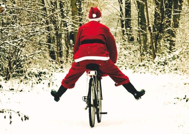 Papai Noel e a Bicicleta