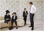 Reunião dos meninos antes do casamento