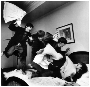 beatles pillow war