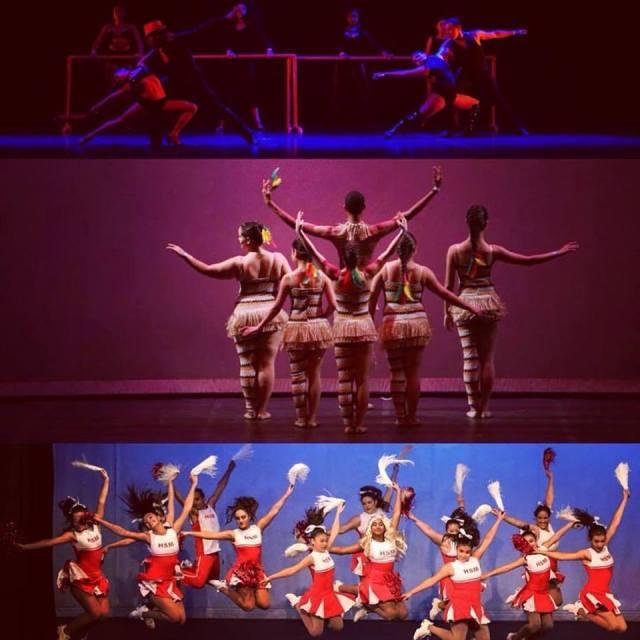 Dia Internacional da Dança - alunas